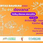 Dieninė vasaros stovykla vaikams